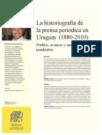 La Historiografia De LaPrensa Periodica En Uruguay 188020-5791362