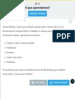 Adobe Illustrator e Photoshop_ Aula 2 - Atividade 5 O que aprendemos_ _ Alura - Cursos online de tecnologia.pdf