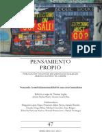 Publicacion Trilingue de Ciencias Social