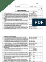 Anexa 5 - Chestionar de Evaluare SSM