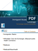 Foley Hoag Immigrant Access to Health Coverage