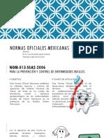 Nomas Oficiales Mexicanas