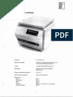 Centrifuga Para Microhematocrito Con Lector