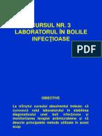 CURSUL NR 3 boli infectioase