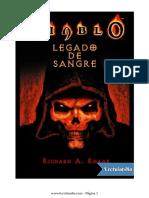 Diablo - Legado de Sangre - Richard a. Knaak