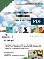Aula 7 _manipulação de Fitoterápicos