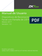 manual de usuario zkteco