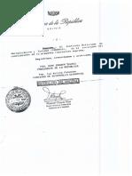 Resolucion Suprema 218266. NB 777
