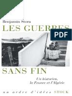 Stora Benjamin Les Guerres Sans Fin