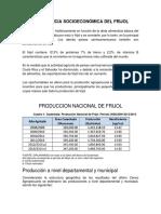 IMPORTANCIA SOCIOECONÓMICA DEL FRIJOL