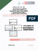 Volumen Vii Mantenimiento Rutinario Periodico