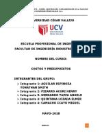 Informe de Proyecto Facultad de Ingeniería Civil