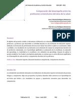 56-280-1-Pb-comparacion Del Desempeño Entre Los Profesores Universitarios Del Area de La Salud