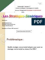 Expo Stratégie Générique