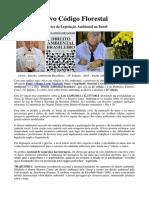 Legislação Ambiental Do Novo Código Florestal