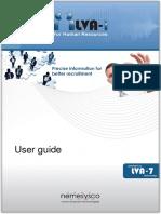 LVA-i 3 User Guide