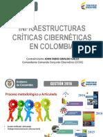 Sesion 5 Panel Infraestructuras Criticas Ciber en Colombia