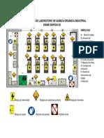Mapa de Riesgos de Laboratorio de Quimica Organica