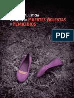Acceso a La Justicia en Casos de Muertes Violentas y Femicidios