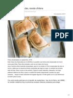 Receta de Empanadas a La Chilena