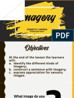 Imagery - Sensory Images