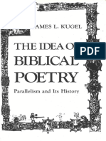 The Idea of Biblical Poetry - J. Kugel