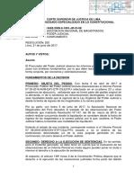 Hugo Velásquez declara infundadas observaciones del Poder Judicial - junio 2017