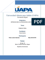 Educacion a Distancia Trabajo Final Pedro Javier
