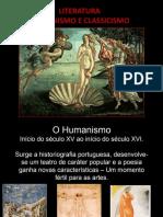 Apresentação Humanismo e Classicismo