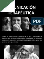 7- Comunicación terapéutica  - copia.pptx