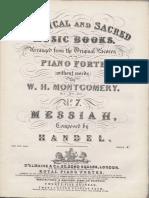 H Ndel Messiah Piano