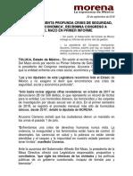 Bol. Congreso Edomex Informe Del Mazo e
