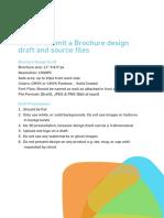 Brochure Guidelines