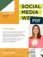 Boatos Social Media Week