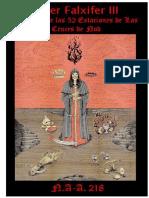Liber Falxifer III - N.A-A. 218 (En Español)