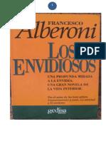Alberoni Francesco Los Envidiosos