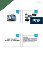 UNIDAD 3 Diapositivas Repotenciacion de Equipos