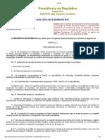 Lei 12813 de 2013 - Conflito de Interesses