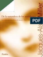 Miller de La Naturaleza de Los Semblantes Jacques Alain Miller
