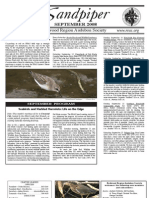 September 2008 Sandpiper Newsletter - Redwood Region Audubon Society