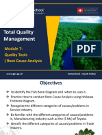 1465651047 TQM - 601 Module 7- Quality Tools - Root Cause Analysis