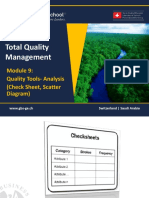 1465651109 TQM - 601 Module 9- Quality Tools - Check Sheet Scatter Diagram