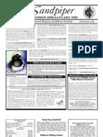 December 2008 Sandpiper Newsletter - Redwood Region Audubon Society