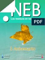Revista NEB tercer aniversario.