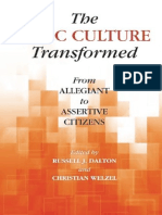 (World Values Survey Books) Russell J. Dalton, Christian Welzel-The Civic Culture Transformed_ From Allegiant to Assertive Citizens-Cambridge University Press (2014)