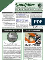 December 2009 Sandpiper Newsletter - Redwood Region Audubon Society