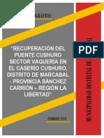 Informe Topografico Puente Cushuro 16 Pag