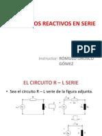 Circuitos Reactivos en Serie