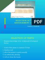 Teeth Arrangement