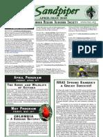 April-May 2010 Sandpiper Newsletter - Redwood Region Audubon Society